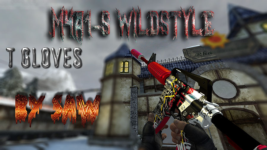Скачать M4A1-S WildStyle [T Gloves]