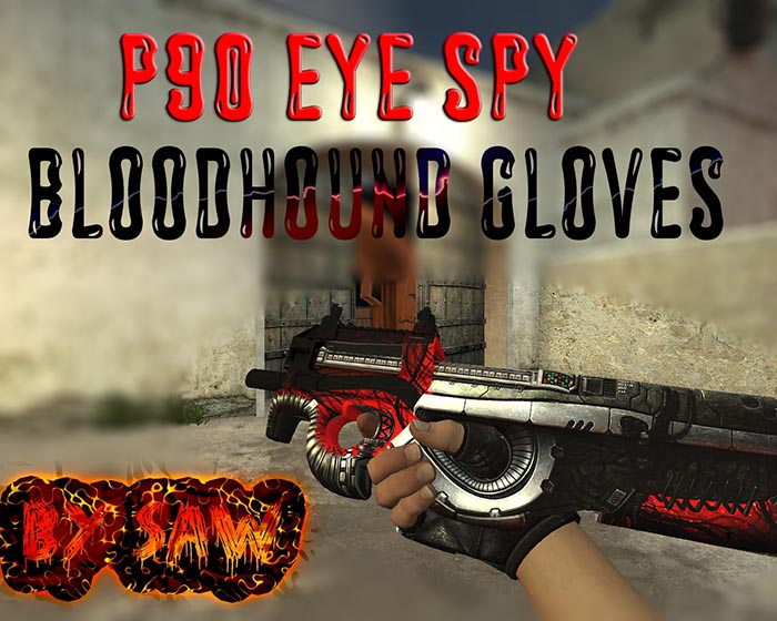 Скачать P90 | Eye Spy [Gloves]