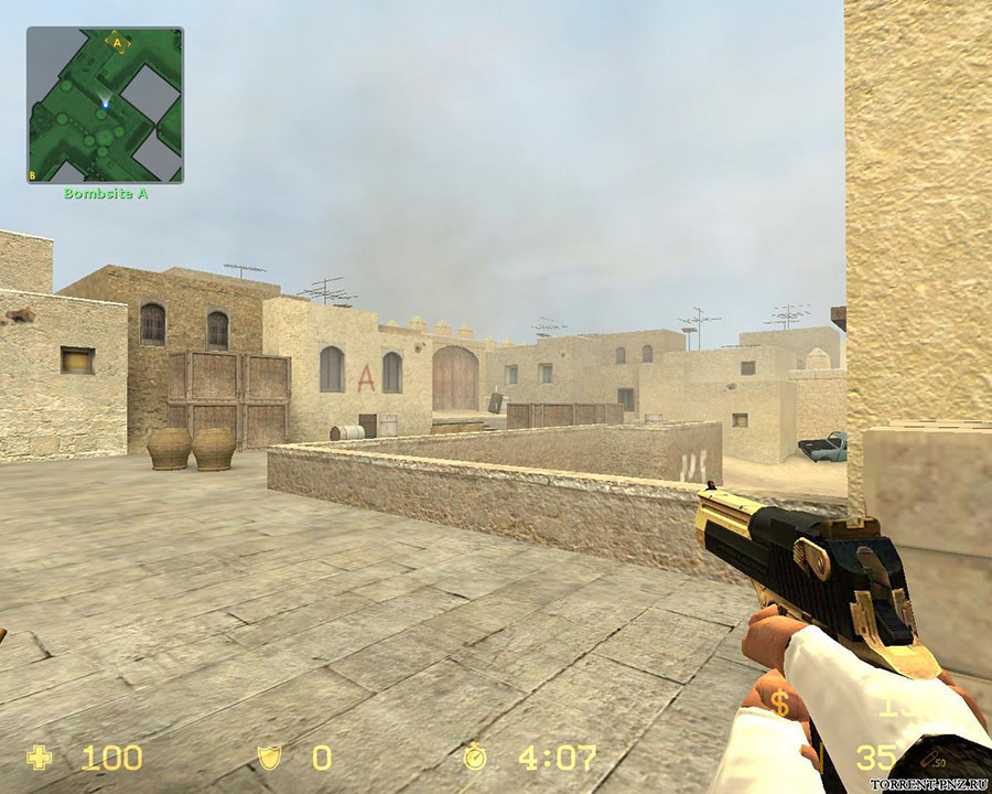 Скачать Counter-Strike Source v34 Gold