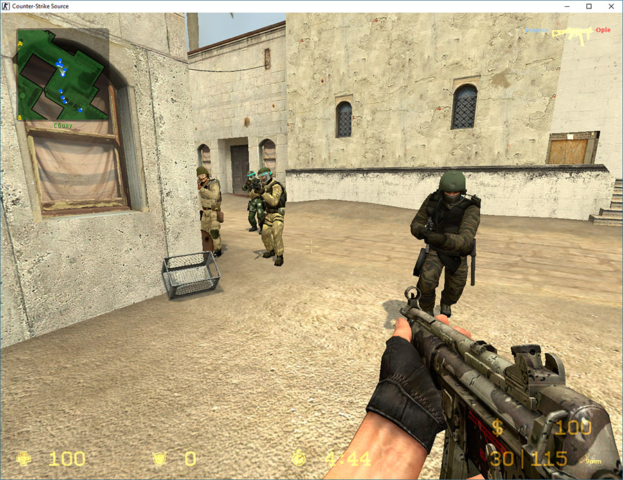 Скачать Counter-Strike Source v34 South Osetia