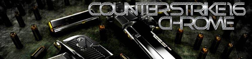 Скачать Counter Strike 1.6 Chrome