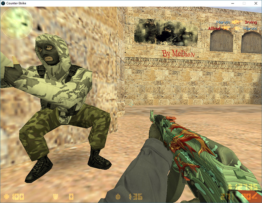 Скачать Counter-Strike 1.6 Square 2017