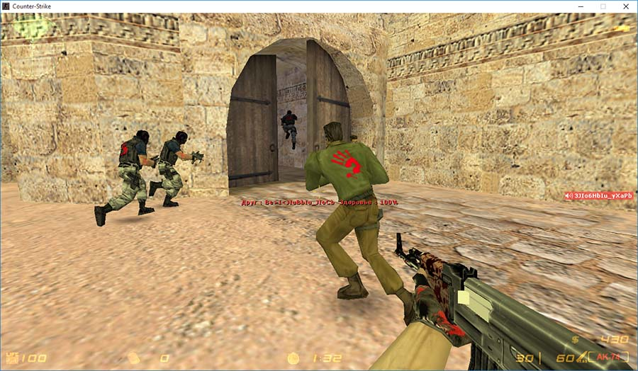 Скачать Counter-Strike 1.6 Bloody