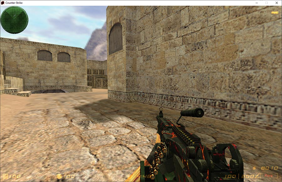 Скачать Counter-Strike 1.6 Lava