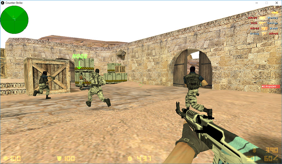 Скачать Counter-Strike 1.6 TRY